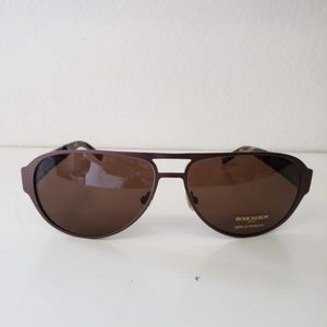 Boucheron Brown Aviator Sunglasses